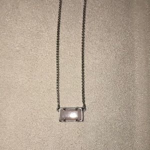 Kendra Scott Silver Pendant Necklace
